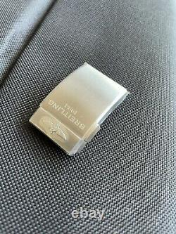 100% Genuine New Breitling 20mm Satin/Brushed S/S Push Button Clasp A20DSA. 4
