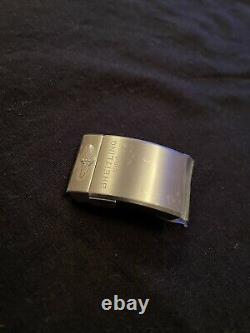 100% Genuine New Breitling 20mm Satin/Brushed S/S Push Button Deployment Clasp