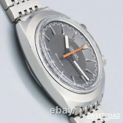 1969 OMEGA Geneva Chronostop 145.010 Manual One Push Chronograph Watch Driver's