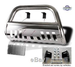 1997-2003 F150 (4X4) 4wd chrome Guard Push Bull Bar in Stainless Steel Bumper