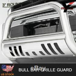 1999-2007 Gmc Sierra Classic 1500ld Bull Bar Skid Plate Brush Push Grille Bar