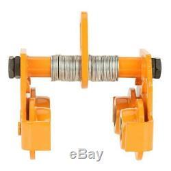 1 Ton Push Beam Trolley For I Beam Gantry Crane Hoist Winch Shop Stainless Steel