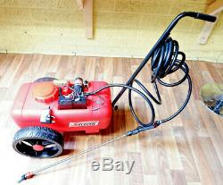 20 Litre Push Type Trolley Weed Sprayer Battery Rechargeable Cordless 12VOLT 12V