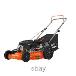21 In. 170Cc Ohv Walk Behind Gas Push Mower 3-In-1 Mulch, Side Discharge, And Re