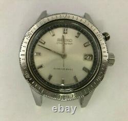 294 SEIKO 5717-8990 One push chronograph 21J Hand winding Working VG/PR