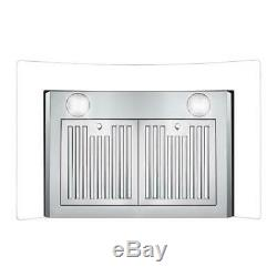 30 In. Ducted Wall Mount Range Hood (open Box) Stainless Steel, Push Controls