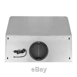 30 In. Under Cabinet Range Hood (OPEN BOX) 900 CFM, Stainless Steel, Push Button