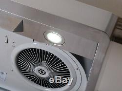 30 In. Under Cabinet Range Hood OPEN BOX 900 CFM, Stainless Steel, Push Button