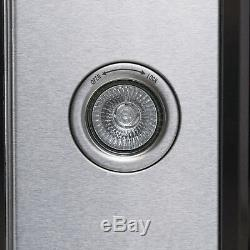 30 Wall Mount Brushed Stainless Steel Modern Range Hood Push Button Control