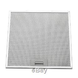 30 Wall Mount Range Hood Stainless Steel Push Panel Kitchen Mesh Stove Vent Fan