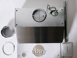 30 in. Under Cabinet Range Hood 500 CFM, Push Button, Stainless Steel OPEN BOX