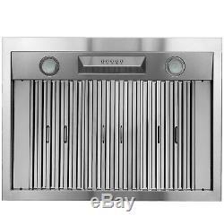36 Under Cabinet Stainless Steel Push Button Kitchen Range Hood