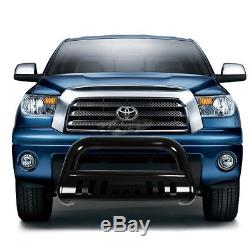 3Coated Bull Bar Push Bumper Grille Guard Plate for Toyota Tundra Sequoia 00-07