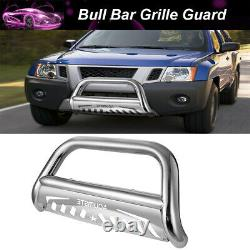 3Front Bumper Grille Guard Bull Bar Push For Nissan Frontier Xterra Pathfinder