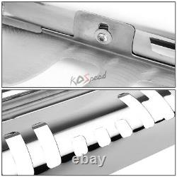 3 Chrome SS Bull Bar Push Front Bumper Grille Guard for 13-16 Nissan Pathfinder