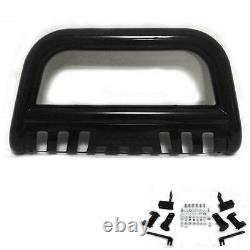 3 S/S Push Bumper Bull Bar Grill Guard Skid Plate For 2009-18 Dodge Ram 1500