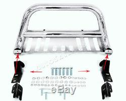 3'' Stainless Steel Chrome Bull Bar Grille Push Guard For 2004-2019 Ford F150