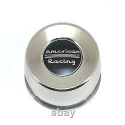 4pcs AR S Steel Chrome Center Caps Push-Thru Dome 4.25 5x5.5 6x5.5 Old Logo