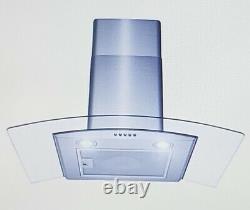 AKDY 30 Wall Mount Kitchen Range Hood 3 Speed Push Button Control RH0370