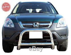 APU Bull Nudge Push Bar Front Bumper Protector Guard for Honda CR-V 2002-2006
