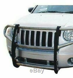ATU Stainless Grill Bumper Brush Guard Push Bar for 2007-2010 Jeep Compass