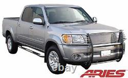 Aries 2048-2 Fits 2001 2004 Toyota SEQUOIA Stainless Grill Brush Guard Push Bar