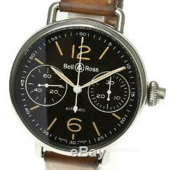 BELL&ROSS Vintage One Push Chronograph BRWW1-MP01 Automatic Men's Watch 507300