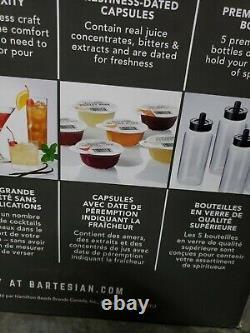 Bartesian Premium Cocktail and Margarita Machine Home Bar Push-Button