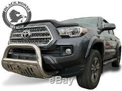Black Horse Bull Bar Fits 16-20 Toyota Tacoma BB096410-SP Bumper Push