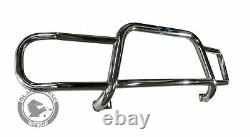 Black Horse Front Runner Fits 11-17 Toyota Sienna 15TY918SS Bumper Push Bar