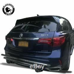 Black Horse Rear Bumper Guard Fits 14-19 Acura MDX Honda Pilot Push Bar