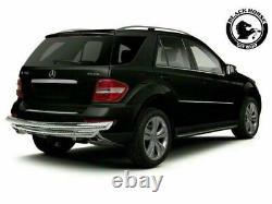 Black Horse Rear Bumper Guard Fits 17-20 Mercedes-Benz GLS GL Push Bar