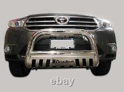 Broadfeet S/S Bull Bar Front Bumper Guard Protector For 08-10 Toyota Highlander