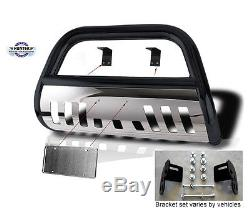 Bull Bar 2009-2018 Ford F150 Push bumper guard in black stainless steel Bumper