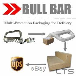 Bull Bar For 1988-1998 Gmc C/k Series 1500 Skid Plate Brush Push Guard S. S