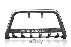 Bull Bar For 2008-14 Nissan X-Trail Nudge Chin ABar Stainless Steel Push Bumper