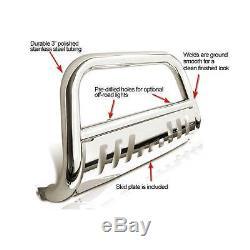Bull Bar Front Bumper Grille Guard fit 10 Ram 2500/3500 2011-2015 Ram 2500/35003