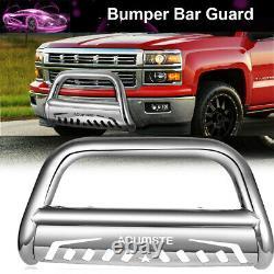 Bull Bar Push Bumper Grille Guard For Chevy Silverado 1500 GMC Sierra1500 Yukon