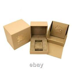 Burberry BU9105 Two Tone Rose Gold Stainless Steel Bracelet Ladies Watch