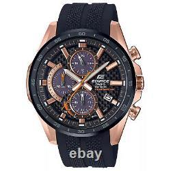 Casio Men's Edifice Black Dial Watch EQS900PB-1AV
