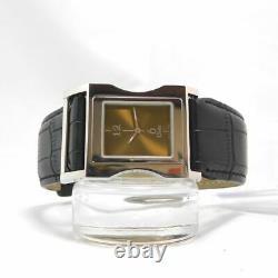 Christian Dior CD033110 WOMEN'S PUSH SILVER VINTAGE WATCH SWISS MADE QUARTZ