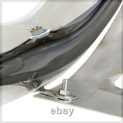Chrome 3 Front Bumper Bull/Push Bar Brush Grille Guard for 00-07 Tundra/Sequoia