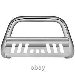 Chrome Bull Bar Push Bumper Grille Guard For 99-07 Chevy Silverado/sierra 1500