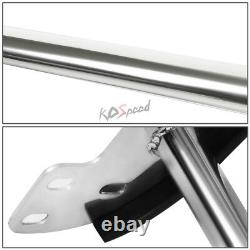 Chrome Front Bumper Push Bar Brush Grille Guard for 03-11 Honda Element 4D Y1/H1