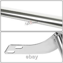 Chrome Front Bumper Push Bar Brush Grille Guard for 06-09 Ram 1500-3500 Mega Cab