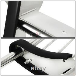 Chrome Front Bumper Push Bar Brush Grille Guard for 07-13 Silverado 2500 3500 HD