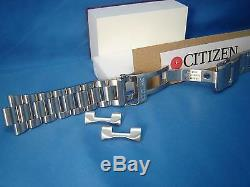 Citizen Watch Band BJ7000. Bracelet All Steel Silver Color WithPush Button Buckle