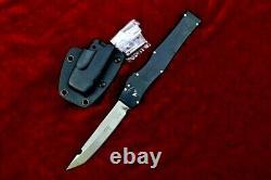 Drop Point Knife Hunting Survival Tactical Combat Elmax Blade Aluminum Handle 4