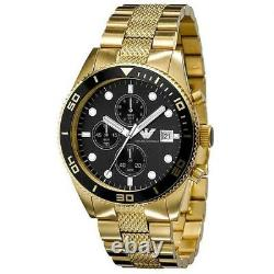 EMPORIO ARMANI Chronograph Men's Steel Watch AR5857