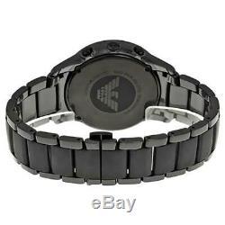 Emporio Armani Black Ceramic Chronograph Fashion Men's Watch AR1452